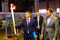 Прошла презентация факела зимней Универсиады – 2019