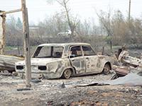 Пожары и аресты: город ищет виновных