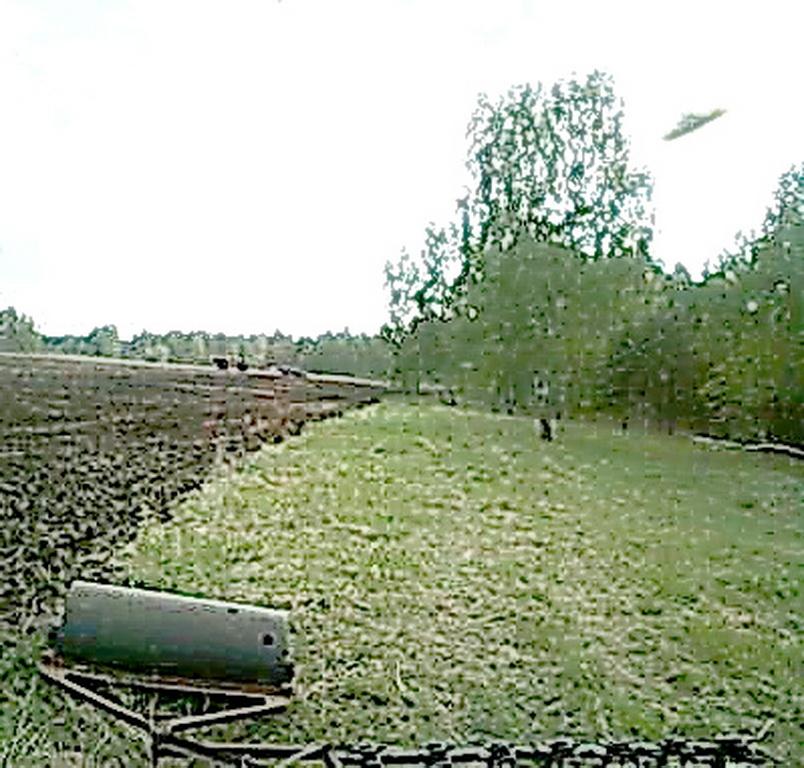 НЛО в поле