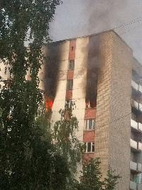 Пожар в общаге: спасли более 150 человек