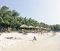 Пляж на острове Vinpearl