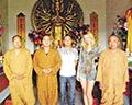 Встреча с дружелюбными монахами