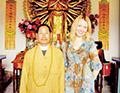 В монастыре Халунь-Аршань