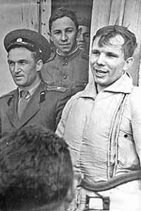 В Железногорске найдены эксклюзивные фото Юрия Гагарина