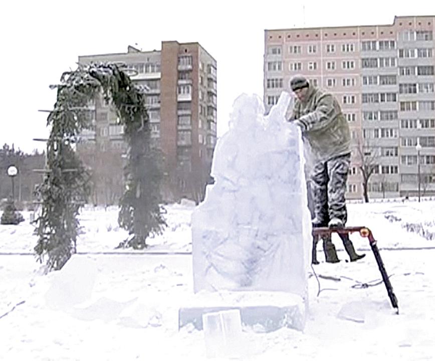 Конкурс ледяных фигур остался без победителей