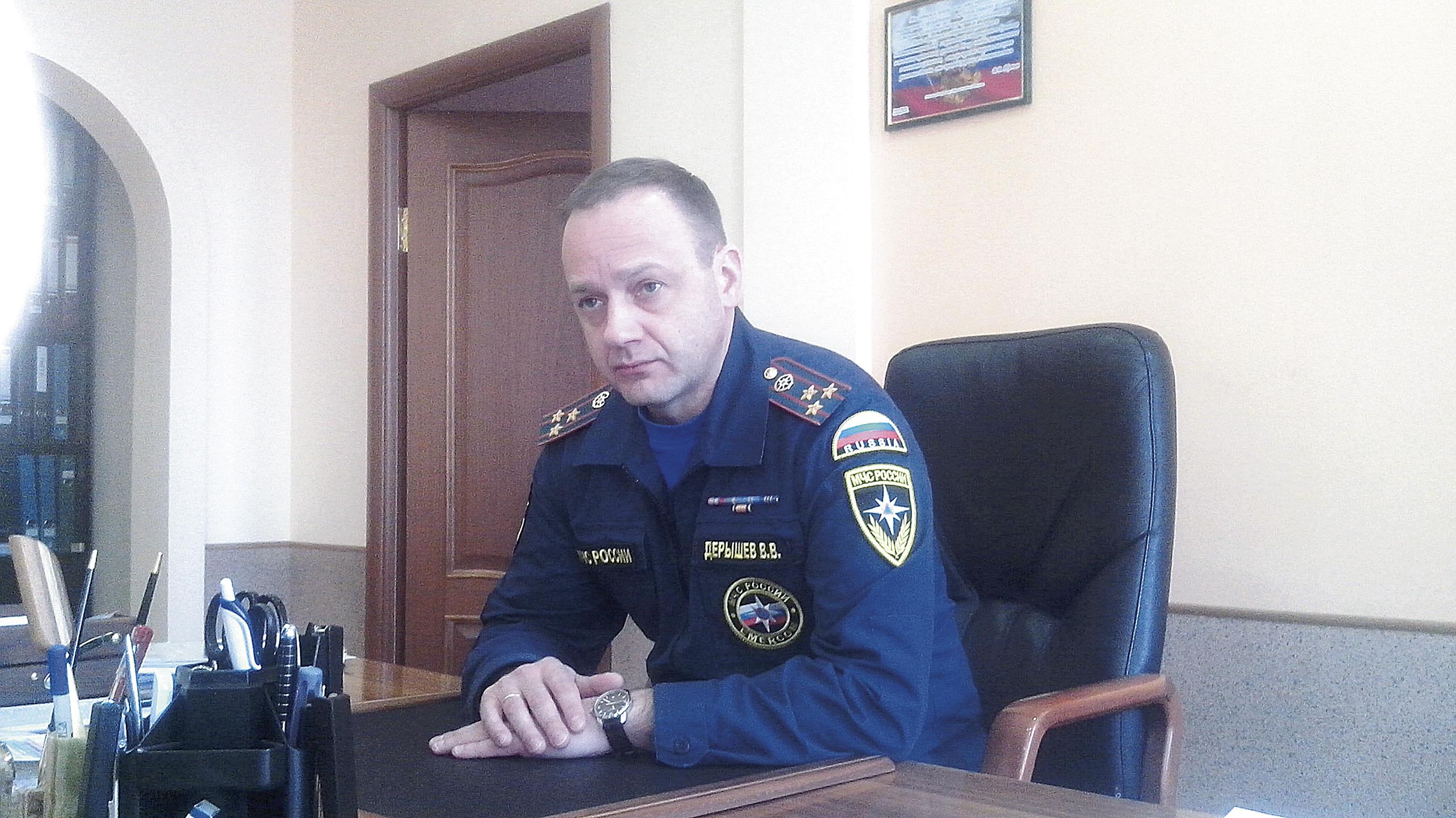 Владимир Дерышев: «Наша работа – ежедневный подвиг»
