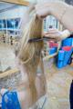 На оставшихся волосах сделайте небольшой начес