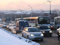 На общественном транспорте - вовремя и без давки