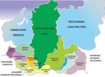 Сибирь на карте мирового роста