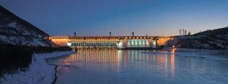 Красноярская ГЭС: энергетический оплот края