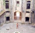 Внутри старинной крепости