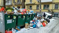 На краю мусорной кучи…
