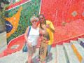 Лестница Селарона - новейшая достопримечательность Рио