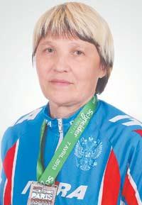 Нина Чаркова: бегом по миру