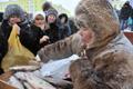 Зимой рыба - главное блюдо в рационе северян