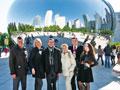 Огромная зеркальная фасолина в Миллениум-парке считается символом Чикаго