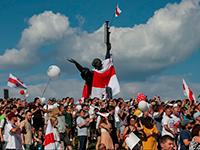 Белорусский майдан и красноярский шайтан