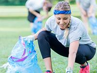 Как совместить лёгкую пробежку с уборкой