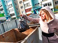 Районные власти будут отвечать за вывоз мусора в сёлах