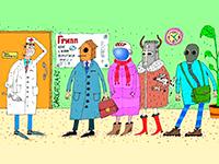 Коронавирус придёт вместе с гриппом