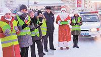 Патруль с Дедом Морозом