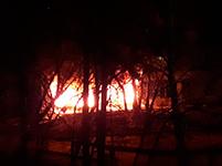 «Бродвей» подожгли